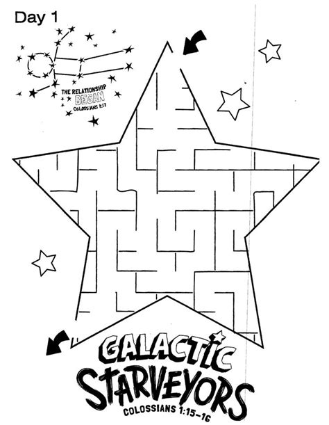 free printable vbs coloring pages galactic starveyors coloring sheet vbs 2017 day 1 easy