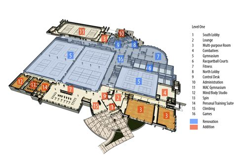 recreation center floor plan rec center floor plans thefloors co