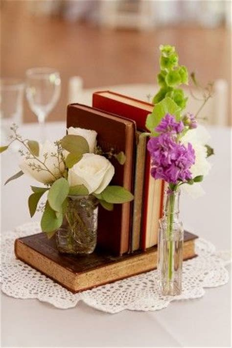 book wedding centerpieces best 10 bud vases ideas on