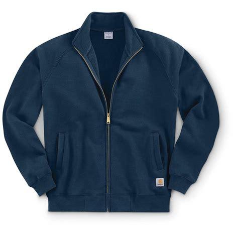 Mock Neck Sweatshirt carhartt s mid weight mock neck zip front sweatshirt