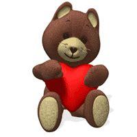 gif ani cute heart bear