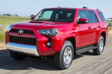 Toyota Suv Prices 2016 Toyota 4runner Suv Pricing For Sale Edmunds