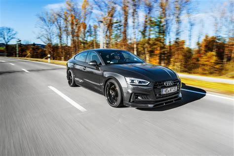 Audi S5 Sportback by Abt Has Its Way With The Audi A5 And S5 Sportback Models