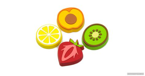 fruity aimants d 233 coratifs en forme de fruits aimants en