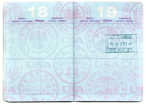 best photos of blank united states passport template us