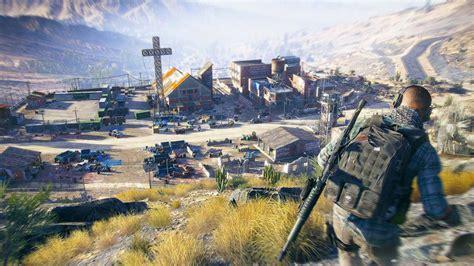 ghost recon wildlands guns blazing gameplay