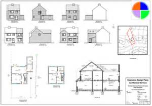 double storey extension building plans and designs