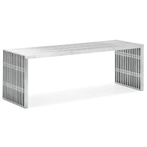 modern metal bench modern benches novel double bench eurway furniture