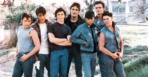 outsiders coppola s new version starring rob lowe s e hinton s quot the outsiders quot a teen classic turns 50