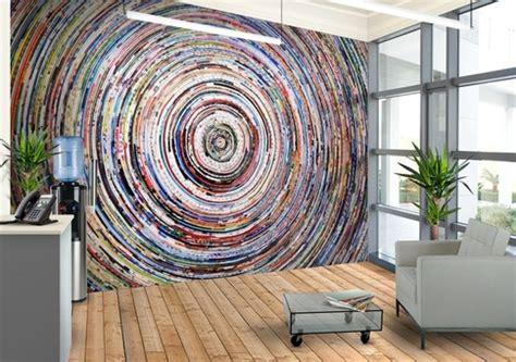 print wall mural coloured circles custom wallpaper mural print by jw