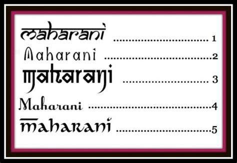 Wedding Fonts Indian by 20 Fabulous Fonts Maharani Weddings
