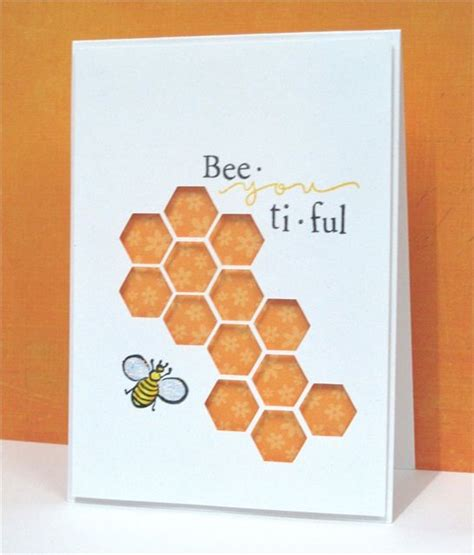 silhouette cameo card bee you ti ful bees cards and silhouettes