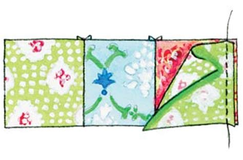 Step By Step Patchwork - how to make a patchwork quilt goodtoknow