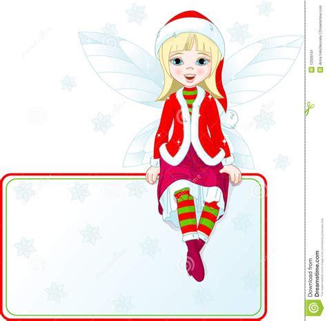 imagenes de navidad hadas poca tarjeta de hadas del lugar de la navidad imagen de