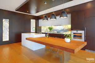 Island Kitchen Bench Designs by Large House With Open Plan Kitchen