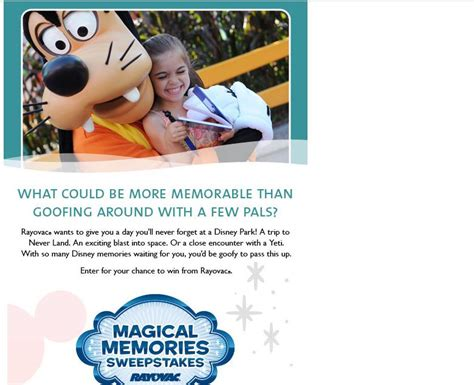 Disney Com Magical World Sweepstakes - family magical memories vacation sweepstakes