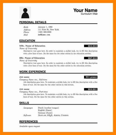 10 how to make a simple cv resumes great
