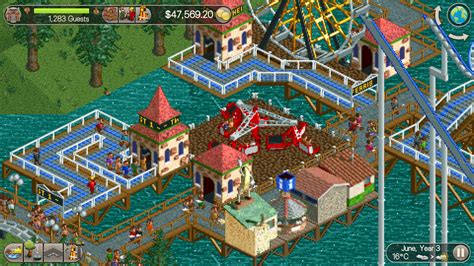 theme park tycoon rollercoaster tycoon classic review a near perfect