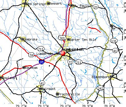 map of lumberton opinions on lumberton carolina