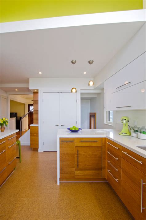 cork floors in kitchen cork flooring a stylish sustainable kitchen solution