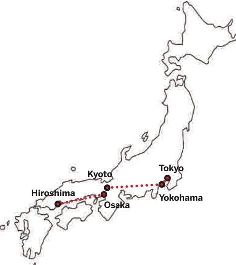 Japan Map Cities Outline by Rs1 Studio In Japan Vs Rs3 Studio In Belgium