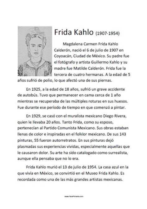 biography en ingles de frida kahlo biografia de frida kahlo new style for 2016 2017