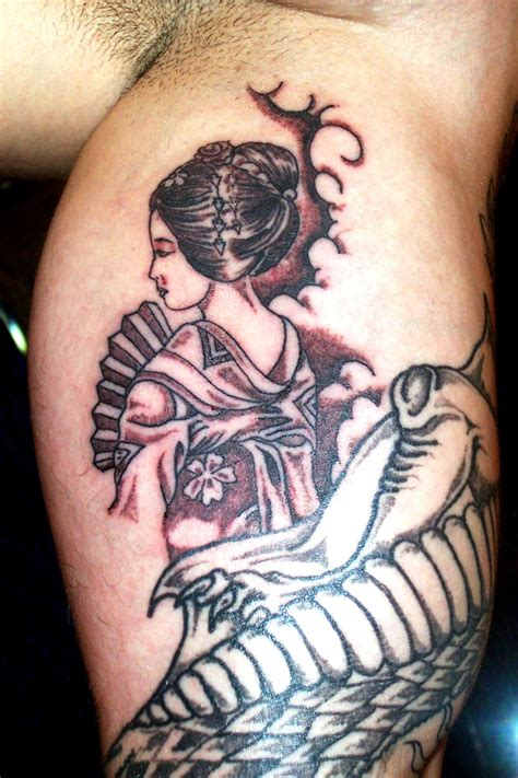 tattoo girl sex geisha images