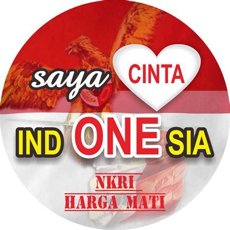 Desain Cinta Indonesia | desain pin cinta indonesia corel draw dodo grafis