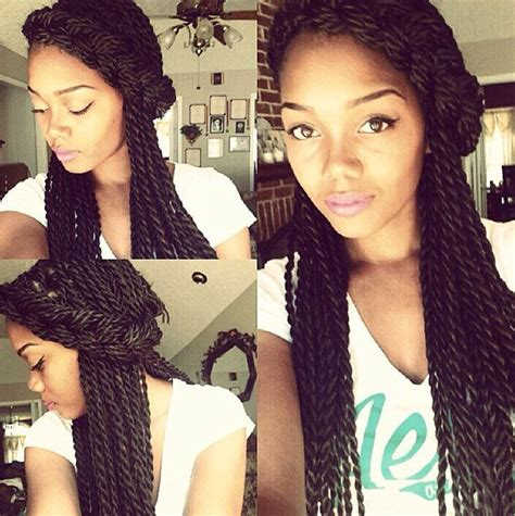 ways to style twisting hair 15 senegalese twists styles you can use for inspiration