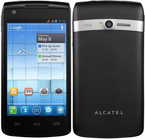 alcatel  touch ot  specs  price phonegg