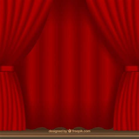 cortinas teatro fundo de cortinas de teatro vermelho baixar vetores gr 225 tis