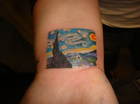 starry night tattoo starry tattoos designs ideas and meaning tattoos