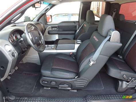 black sport interior 2008 ford f150 fx2 sport