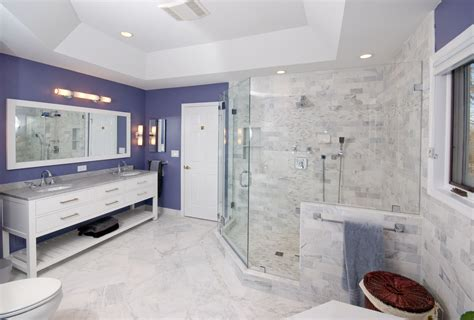bathroom shower remodels bath and kitchen remodeling manassas in virginia