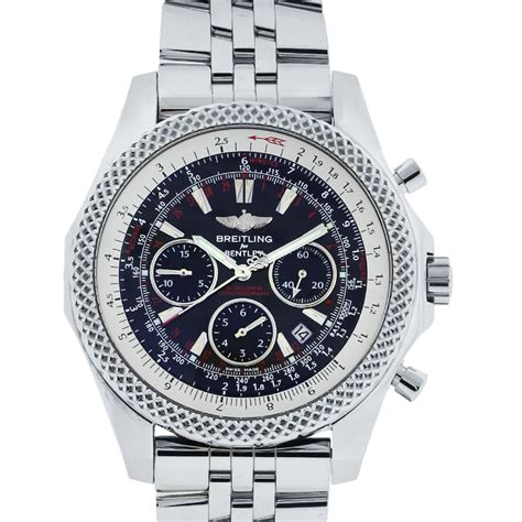 bentley breitling breitling for bentley a25364 stainless steel black