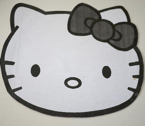 como hacer la cabeza de hello kity para disfraz como hacer la cabeza de hello kity para disfraz como