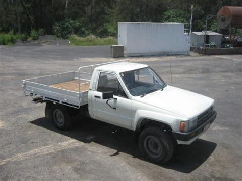 1984 Toyota 4x4 For Sale 1984 Used Toyota Hilux 4x4 Petrol Cab Chassis Car Sales