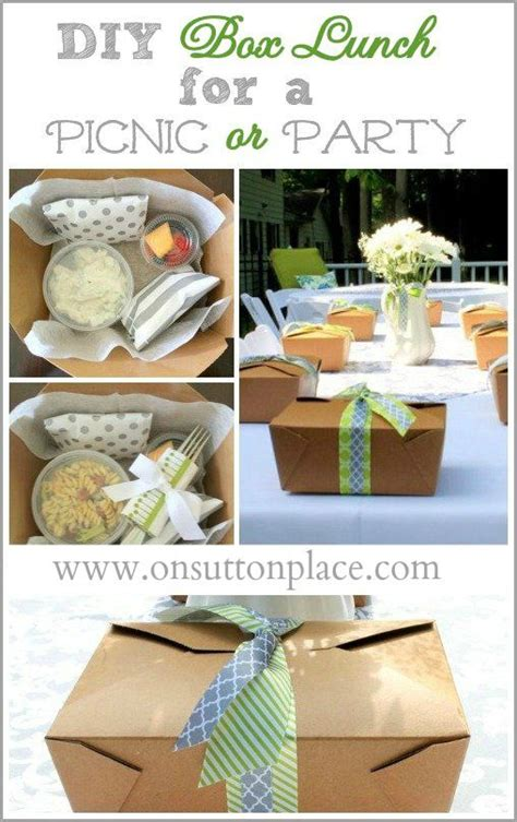 Wedding Box Lunch Ideas by Diy Box Lunch For A Picnic Or Skovture Og Kasser