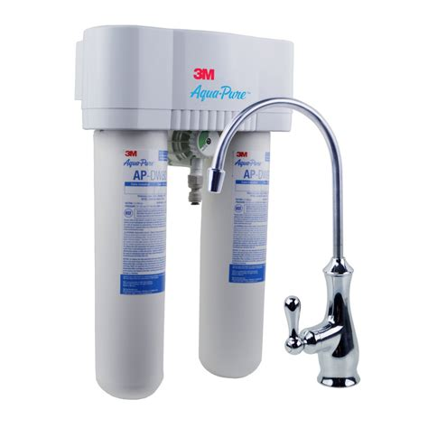 sink water filter system 3m aqua apdws1000 undersink water filter system