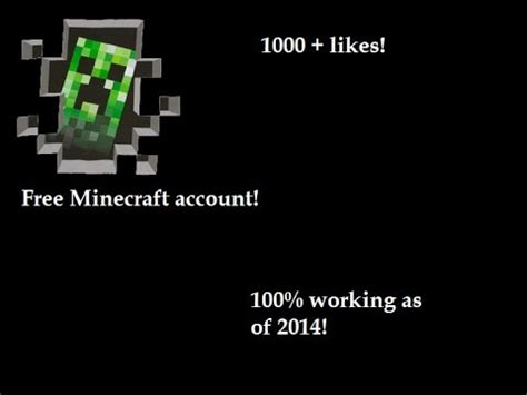 Free Minecraft Account And Password Giveaway - minecraft accounts list 2014 october doovi
