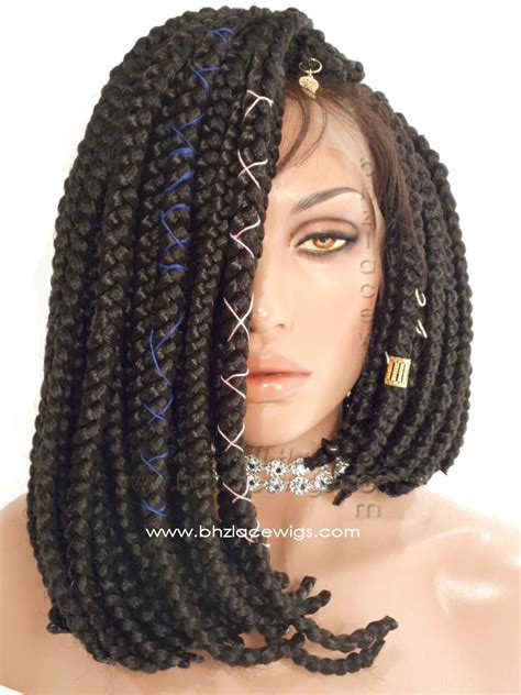 poetic justice bix braid lace wigs exclusive jumbo braid full lace wig jumbo braided bob wig