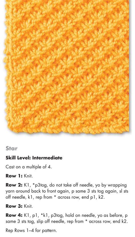 puntos de crochet estrella patrones crochet