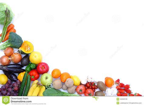 fruit 8 studio fruits and vegetables frame stock photo image 44559726