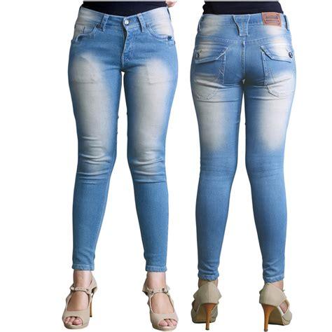 jual celana celana panjang wanita bahan denim