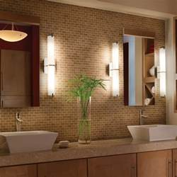 lighting modern vertical wall bathroom contemporary ideas and lights