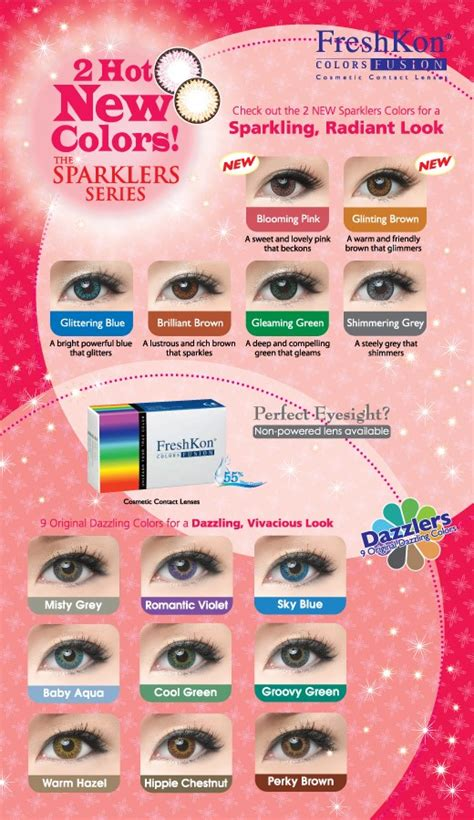 color contacts walmart buy freshkon colors fusion plano non prescription
