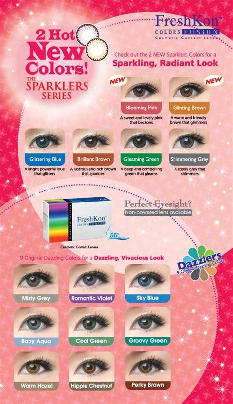 colored contacts at walmart buy freshkon colors fusion plano non prescription