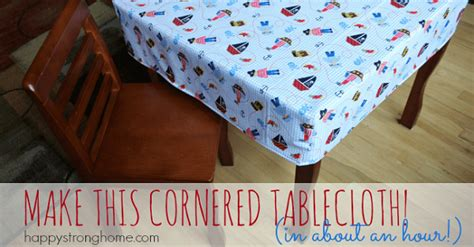 tutorial  hour fitted tablecloth sewing