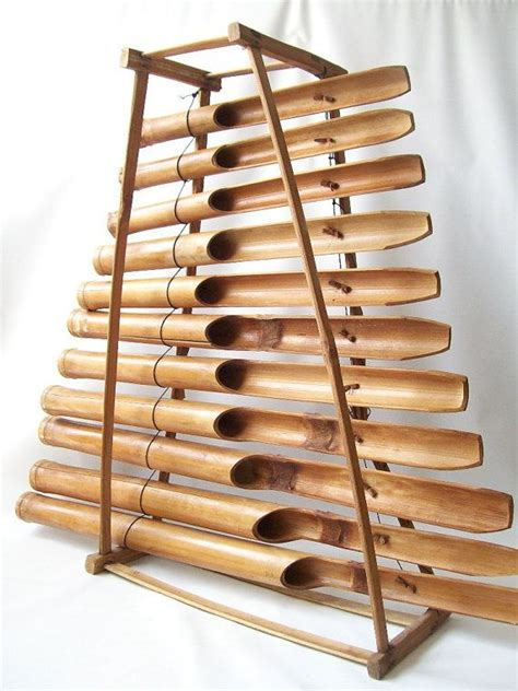 decorative xylophone vintage bamboo wood xylophone musical instrument atomic