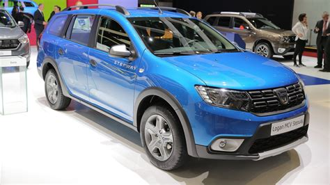 logan stepway logan mcv stepway is by far dacia s coolest car in geneva